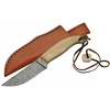 Couteau poignard 21cm DAMAS - Damascus full tang