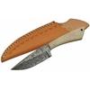 Couteau poignard 20,2cm DAMAS - Damascus full tang