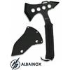 Hachette hache 27,5cm full tang, acier noir - ALBAINOX
