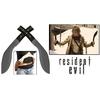 Lot 2 dagues épées arme 37,5cm - Machette RESIDENT EVIL