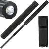 Matraque télescopique 47,7cm + LED - Baton tactique
