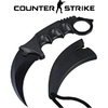 Couteau CS GO Counter Strike 18,7cm - tactique noir