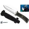 Couteau de plongée sous-marine 23,5cm - noir ALBAINOX