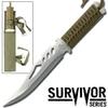 Poignard de survie 28cm full tang - Couteau