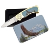 Coffret collector couteau pliant - Collection Aigle