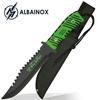 Poignard Zombie 33,5cm couteau design - ALBAINOX
