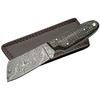 Poignard 19cm lame DAMAS - Couteau tanto Micarta