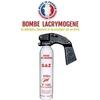 Extincteur bombe lacrymogène 300ml GAZ CS - aérosol lacrymo