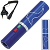 Taser shocker 2.800.000 volts ! électrique bleu - Make up tazer