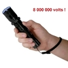 Taser shocker 8 000 000 volts LED + étui + dragonne