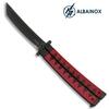 Balisong couteau papillon 24cm ALBAINOX - Design katana