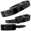 Couteau ceinture universelle toutes tailles - NAVY marine
