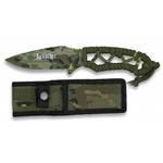 Couteau 20cm camouflage militaire - Full tang tout acier.