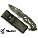Couteau 20cm camouflage militaire - Full tang tout acier