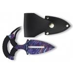 Dague push-dagger 12,7cm couteau - ALBAINOX..