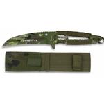 Couteau full tang acier 21,2cm militaire - ALBAINOX.