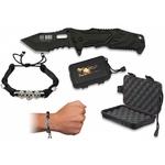 Coffret couteau tactique RUI + bracelet squelette
