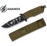 Couteau compact 18cm poignard full tang ALBAINOX