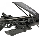 Arbalète pistolet 80 livres noire + 3 flèches - ANGLO ARMS.......