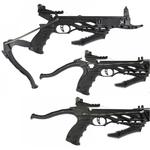 Arbalète pistolet 80 livres noire + 3 flèches - ANGLO ARMS....