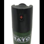 Bombe lacrymogène 60ml GAZ défense - Lacrymo NATO...