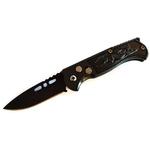 Couteau automatique 15,8cm cran darrêt compact noir