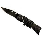 Couteau automatique cran d'arrêt 16cm FUSIL compact