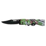 Couteau automatique BATMAN FUSIL cran darrêt 16cm..