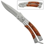 Couteau papillon rosewood, balisong - GBS52