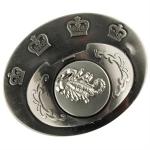 Boucle de ceinture + poing américain - Scorpion argenté2