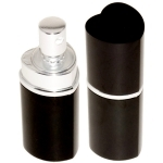 Bombe lacrymogène 25ml poivre OC, leurre parfum noir