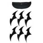 6 Armes Bat Boomerang Batman, shuriken - Z146