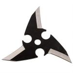 Pack 3 étoiles Dragon Eye, shuriken - noir WG9912
