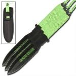 3 couteaux Zombie Killer, couteau lancer - CH0110