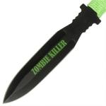 3 couteaux Zombie Killer, couteau lancer - CH01102