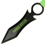 3 couteaux Zombie Killer, couteau lancer - CH01112