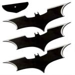 3 Armes Bat Boomerang Batman, shuriken - YC7063