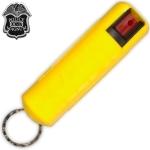 Bombe gel poivre 20ml poivre + porte clé - jaune