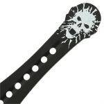 3 Couteaux de lancer 19cm Squelette - TR11083