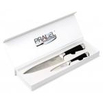 Coffret Pradel Evolution 2 couteaux - noir C8211