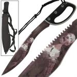 Machette 53cm Gurkha kukri Zombie - WG1097