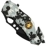 Couteau arctique 15,5cm camouflage - WG9232