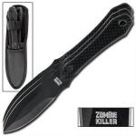 3 couteaux Zombie Killer, couteau jet - WG885