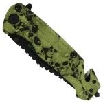 Couteau Zombie 21cm pliant - CH01032