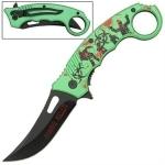 Couteau Zombie Killer 20cm pliant - CH0114