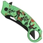 Couteau Zombie Killer 20cm pliant - CH01142