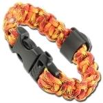 Bracelet paracorde survie + boussole, sifflet - AZ9002