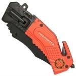 Couteau pompier multifonction LED métal - WG10522