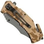 Couteau US Marines multifonction LED métal - WG10533