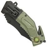 Couteau US Army multifonction LED métal - WG10492